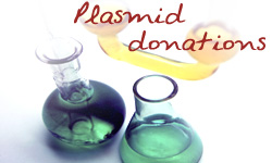 Plasmid donations